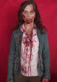 "Paula can cross ""zombie"" off her bucket list."