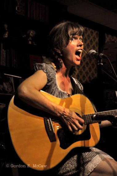 Performing as Paula's alter-ego: Sparky Spurr